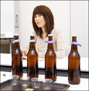 サントリー酒類株式会社 ビール事業部 ビール品質開発研究部 乾隆子様