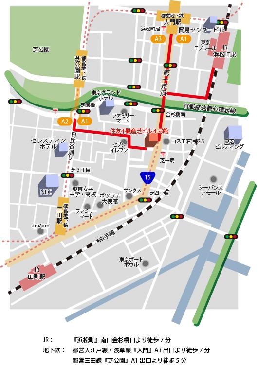 LECOジャパン地図